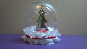 3D Christmas Tree Snow Globe