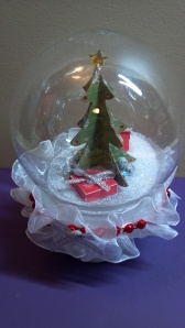 3D Christmas Tree Snow Globe 4