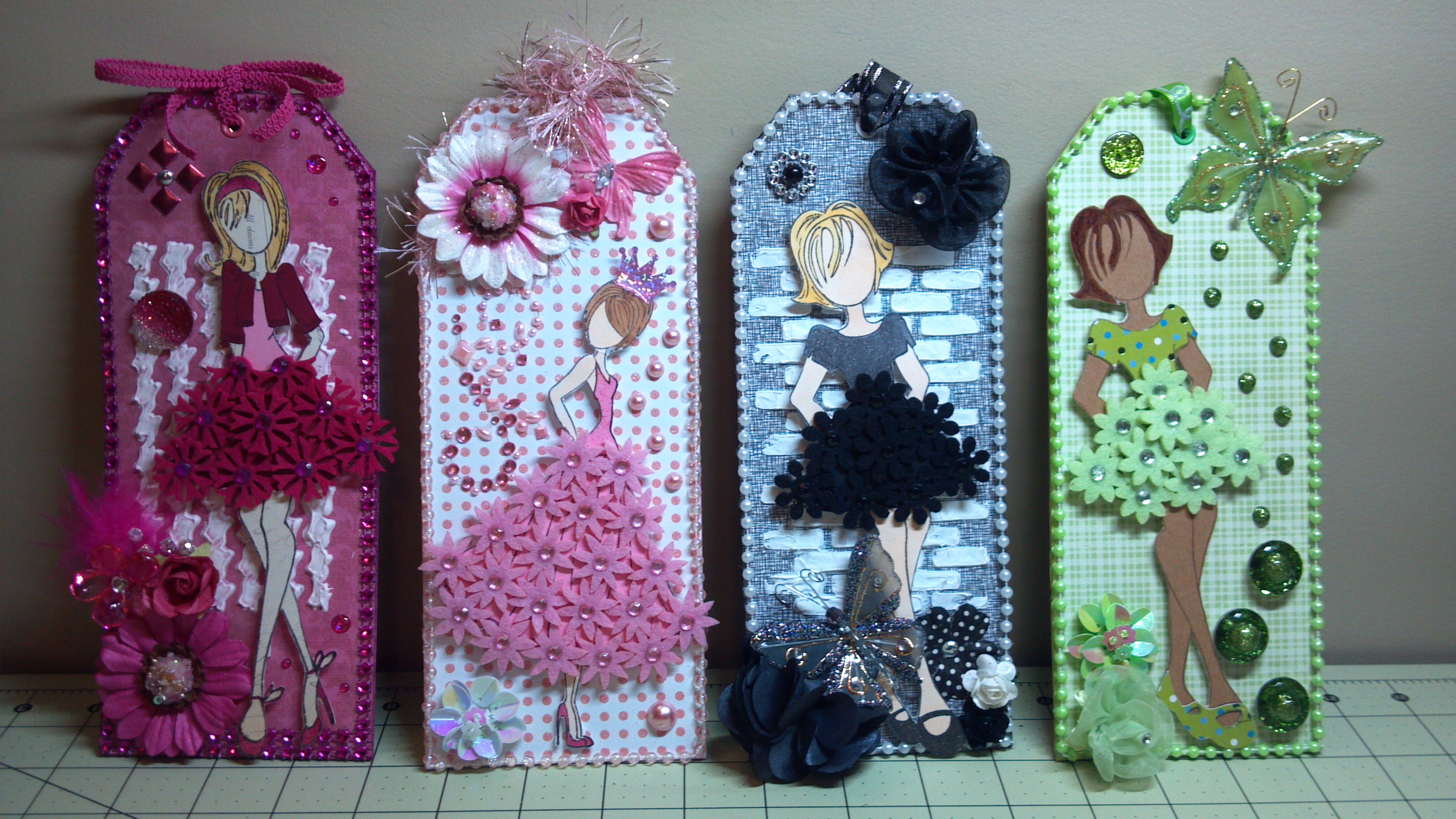 Prima Doll Tag and Altered Domino Charm Swap | The Sewgood ...