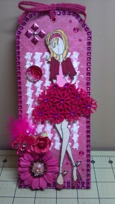 Fuschia Prima Doll Tag