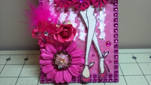Fuschia Prima Doll Tag Close Up 3