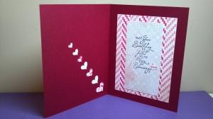 Birthday Love Card - Inside