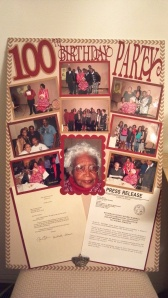 100th Birthday Party Photo Board