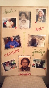Grandmother Photo Board