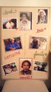 Grandmother Photo Board