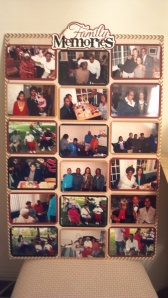 Family Memories Photo Board