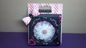Handmade Embellishment Box and Flower Headband