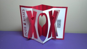Hugs & Kisses Card Front