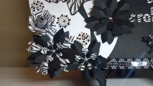 Craft Room Name Plate Corner Flower Cluster