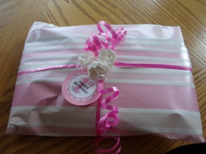 Wrapped Items for Gift Bag