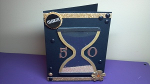 Hourglass Birthday Shaker Card - View 2