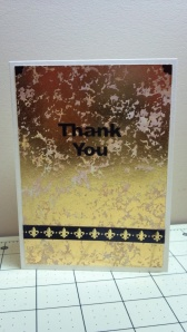 Many Thanks Thank You Card #2