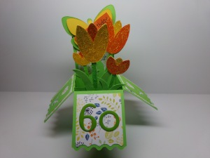 Tulip Box Card View 2