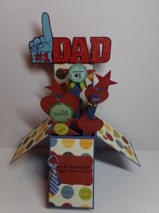 Father's Day Card in a Box View Two