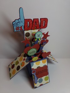 Father's Day Card in a Box