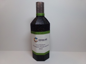 3D Wine Bottle Box