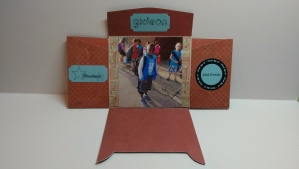 School Days Mini Folio Opened