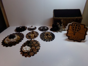 Pocket Full Of Embellishment Pieces Made Overview
