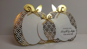 Pumpkin Trio Sympathy Card