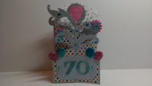 Ms. Sharon's 70th Birthday Card 1