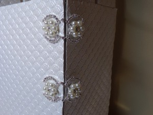 70th Birthday Clock Bling Closures