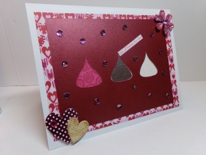 Hershey Kisses Cutout Card 1