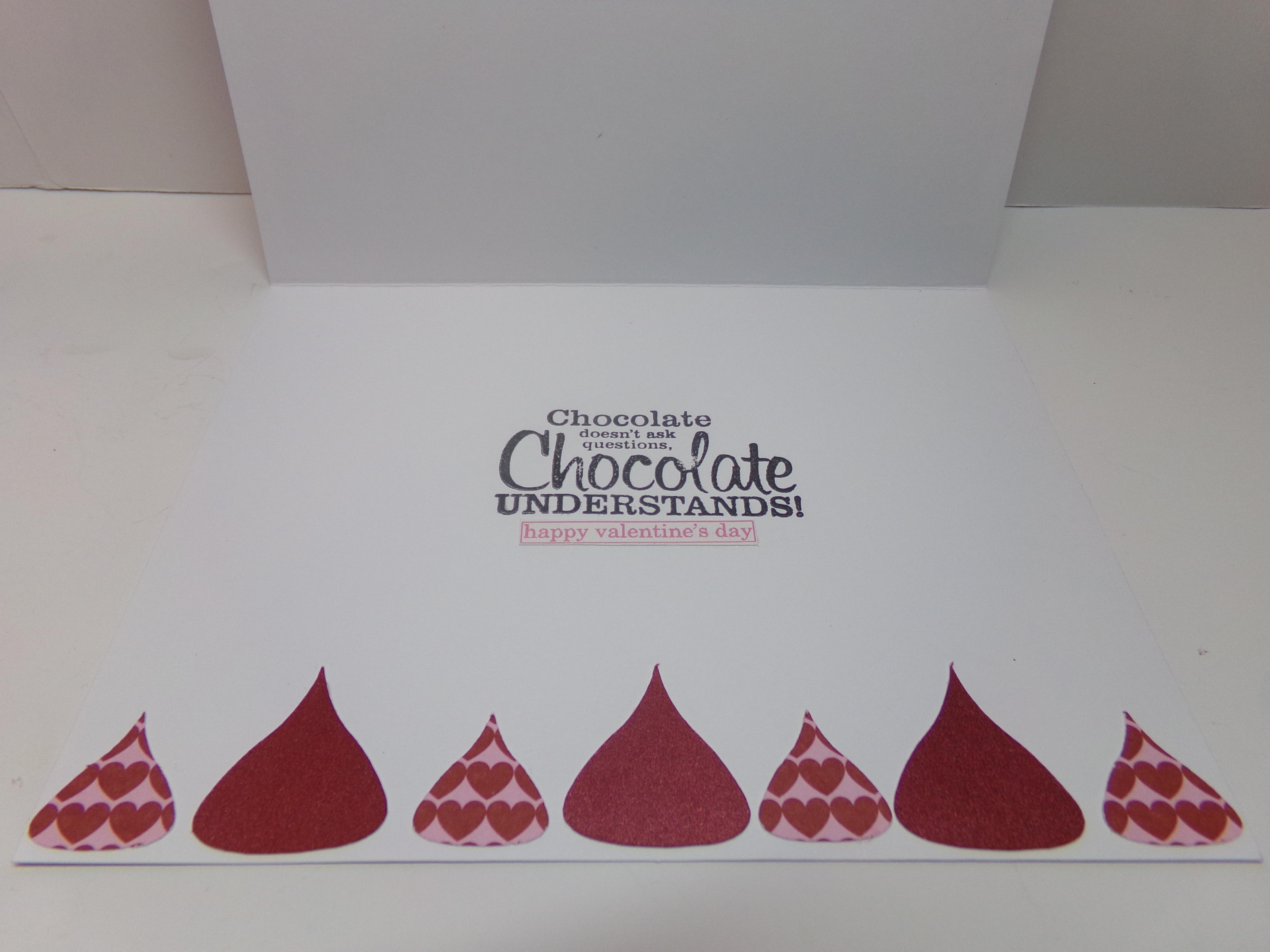 e4b4b4cea43 Hershey Kisses Cutout Card 1 Inside