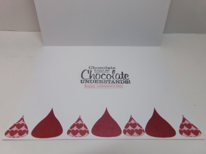 Hershey Kisses Cutout Card 1 Inside