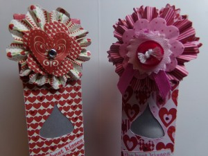 Sweet Kisses Tube Boxes Top Embellishment
