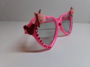 Blinged Out Kid's Sunglasses