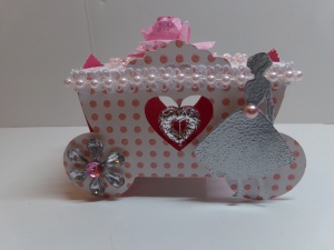 Princess Carriage Favor Box