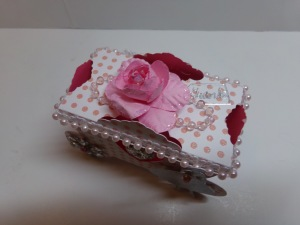 Princess Carriage Favor Box Top