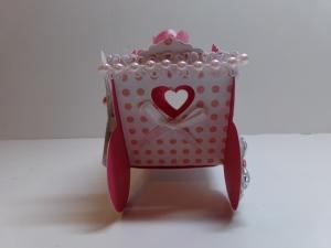 Princess Carriage Favor Box Side