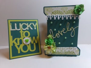 Lucky to Know You Card and Spool Box