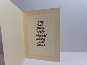 With Deepest Sympathy Card Inside