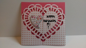 Happy Valentine's Birthday Card