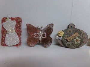 Dressform, Butterfly, and Tag Charm Tiny Embellishments