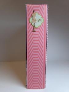 Craft Supply Inventory Book Spine