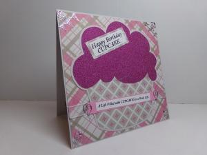 Huge Cupcake Birthday Card