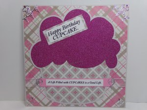 Huge Cupcake Birthday Card #2