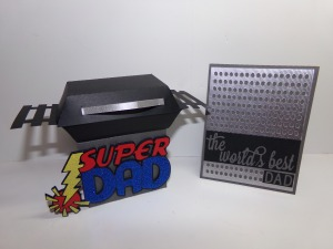 Grill Card Holder and Matching Father's Day Card