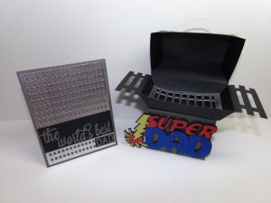 Grill Card Holder and Matching Father's Day Card 2