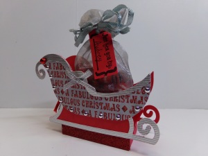 Christmas in July Sleigh Treat Box View 2