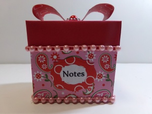 Post It Note Box Front
