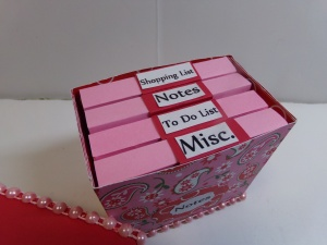 Post It Note Box Labels