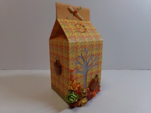 Fall Milk Carton