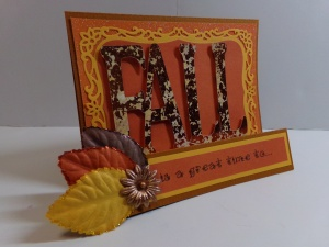 Fall Is Birthday Card