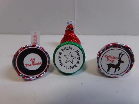 Christmas Hershey Kiss Bottoms
