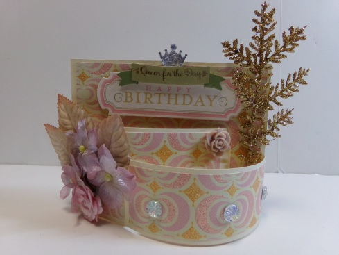 Birthday Bendi Card Front View