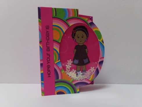 Everyday Elisha Jean Stamp Set Shaker Card